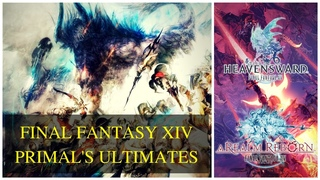 Final Fantasy XIV Primals' Ultimate Moves and Intros (ARR & HW)