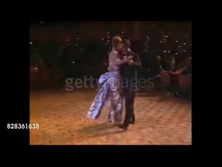 Prince charles and princess diana dancing in australia (1988)