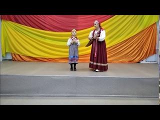"Частушки ""Не ругай меня, маманя"", исполняет Варвара Ермак, 6 лет"