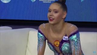 TRUBNIKOVA Daria Hoop Final World Cup Baku 2021