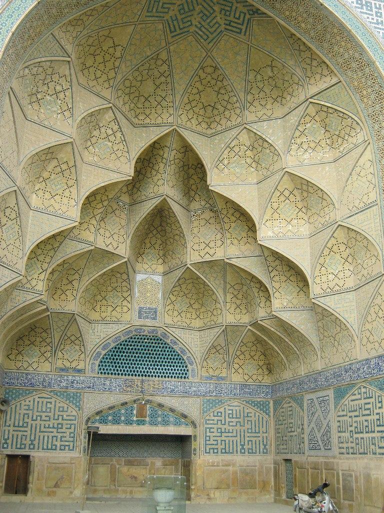 свод-портал супер-мечети Джаме в Исфахане