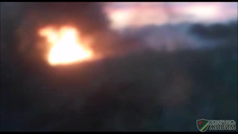 Каклы отгребли от ополченцев на Светлодарской Дуге (архивное видео)