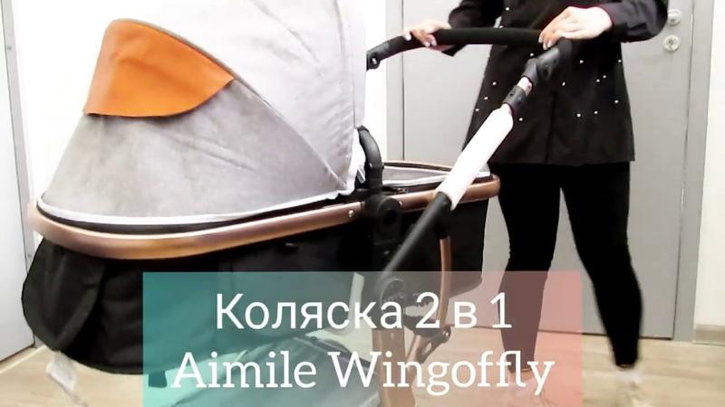 Обзор коляски Aimile Wingoffly