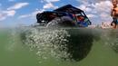 МАШИНА В ВОДЕ! Радиоуправляемая машина буксует в песке и плывет в море • игрушки для мальчиков