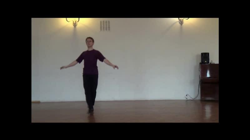 Ballet de neuf danceurs Feuillet 1700 Canary solo