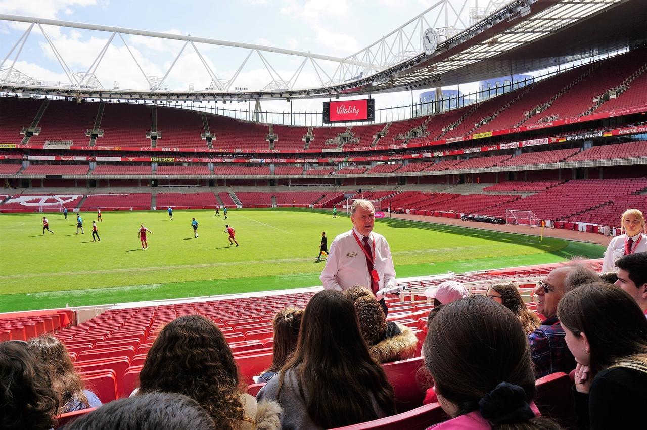 Экскурсия по стадиону ФК Арсенал Эмирейтс