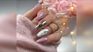 Красивый и нежный маникюр на каждый день / Дизайн ногтей / Beautiful manicure for every day