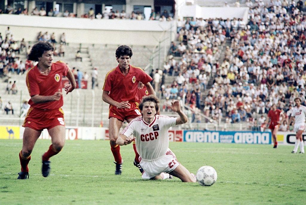 СССР - Бельгия, 3-4. Чемпионат мира 1986