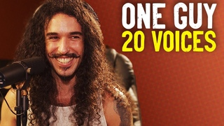 One Guy, 20 Voices (Michael Jackson, Post Malone, Roomie & MORE)