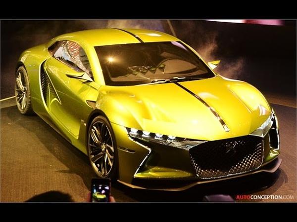 Car Design DS E-TENSE Concept