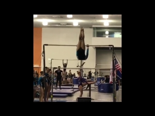 Chelsea warner a gymnast with down syndrome