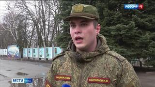Казаки Всевеликого войска Донского провели первую тренировку перед парадом Победы в Москве