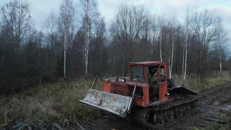 ТДТ-55 Трелевочник – уничтожитель леса _ Советские трактора и Спецтехника _ Зенк