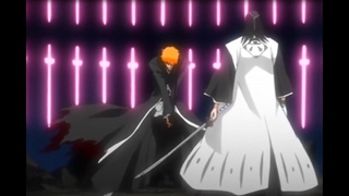 Блич   Ичиго и Бьякуя Кучики   Bleach   Ichigo vs Byakuya Kuchiki
