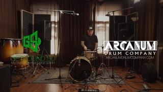 Arcanum Drum snares & Lauten Audio LA320 overhead mics