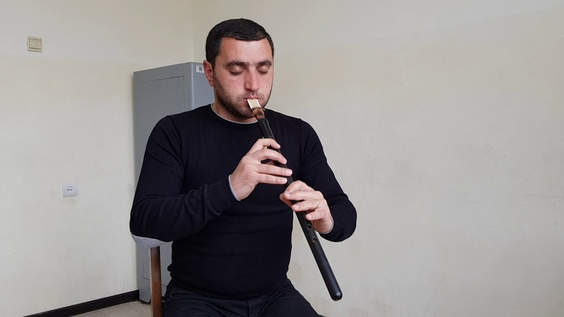 Armenian duduk in F made by master Galstyan Plays Vache Pashinyan