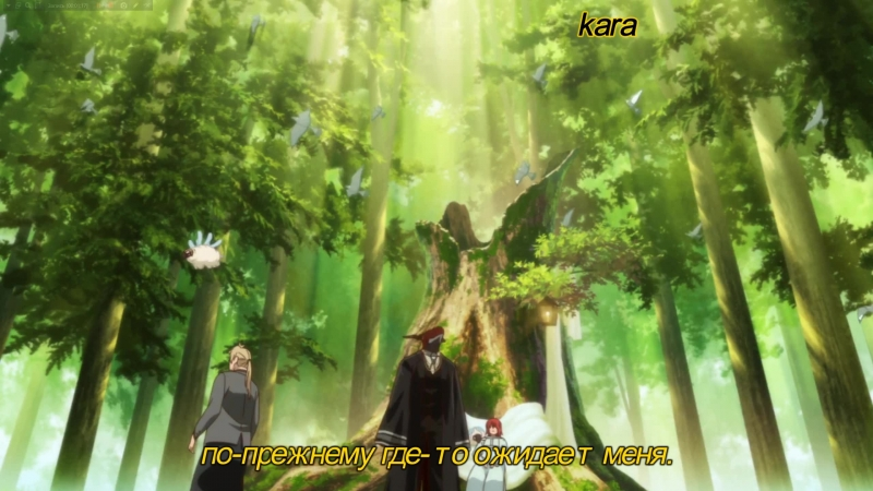 Mahoutsukai no Yome OP 1 The Ancient Magus' Bride Opening 1 Невеста чародея Опенинг 1 rus sub