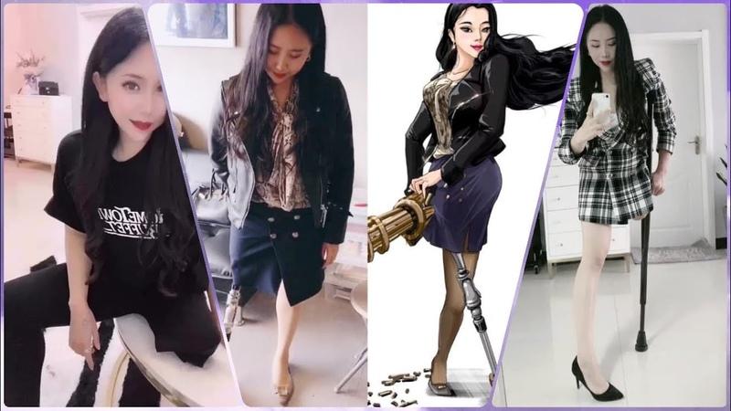 Beautiful leg amputee lady 80524 Amputee fashionista Elegant and Classy style