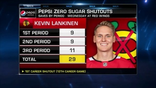 NHL Tonight: Kevin Lankinen earns his first NHL shutout