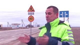 Ремонт дороги Евпатория - Черноморское завершится 20 июня текущего года