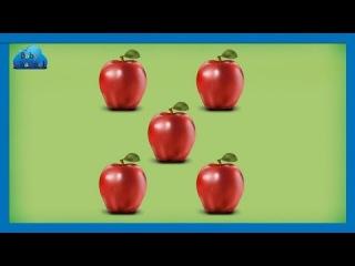 Учимся считать до 10 по англиский, Счет от 1 до 10 на английском, Развивающий видео для детей