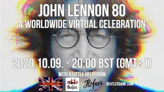 John Lennon 80 - A Worldwide Virtual Celebration