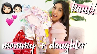 MOTHER AND DAUGHTER CLOTHING HAUL!