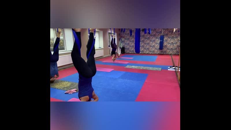 Йога в гамаках в Борисоглебске