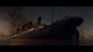 Titanic Final Plunge 2:07 am