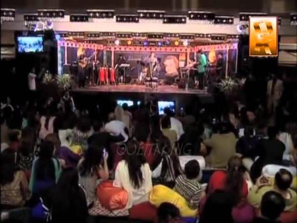 Alka yagnik n Kumar Sanu in Marriott Hotel HUNZA VALLY nothern pakistan