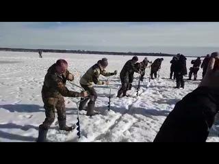 Бурение лунок на скорость/Новости Североуральска -