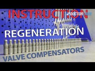 valve compensators. Repair