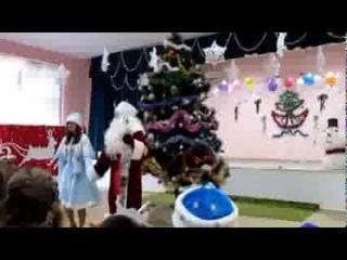 танец Jingle Bells  Новый год в школе - 2014