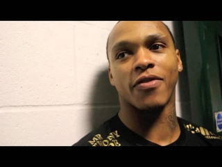 🦁BEAST MODE! MR ANTHONY YARDE 🦁TAKES OUT CURTIS GARGANO INSIDE ONE ROUND - POST FIGHT INTERVIEW