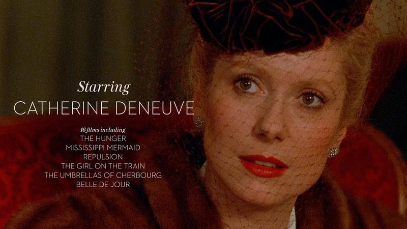 Starring Catherine Deneuve Criterion Channel Teaser