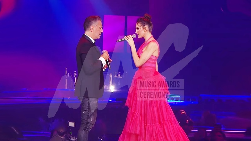 EMINA feat. ŽELJKO JOKSIMOVIĆ DVA AVIONA MAC Music Awards Ceremony 2019.