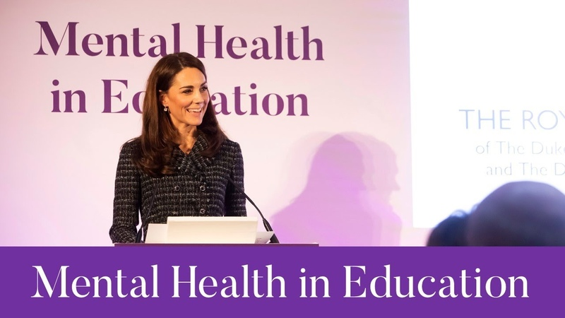 The Duchess of Cambridge at Mental Health in Education conference | Heads Together