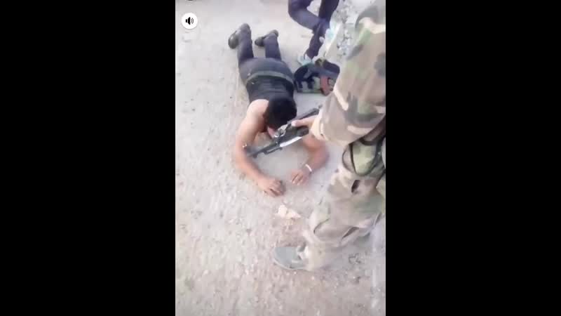 Syria Idlib IdlibBattle IdlibDawn Tiger Forces Tigers Men Unknown date location Posted on a Soldiers story 3 Militants captu