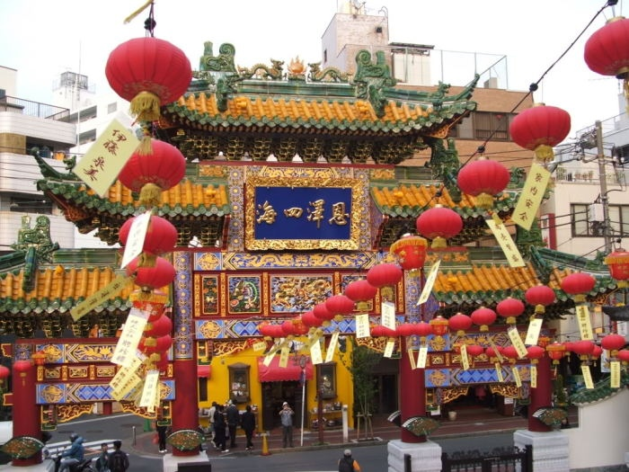 Китайский квартал Сингапура.