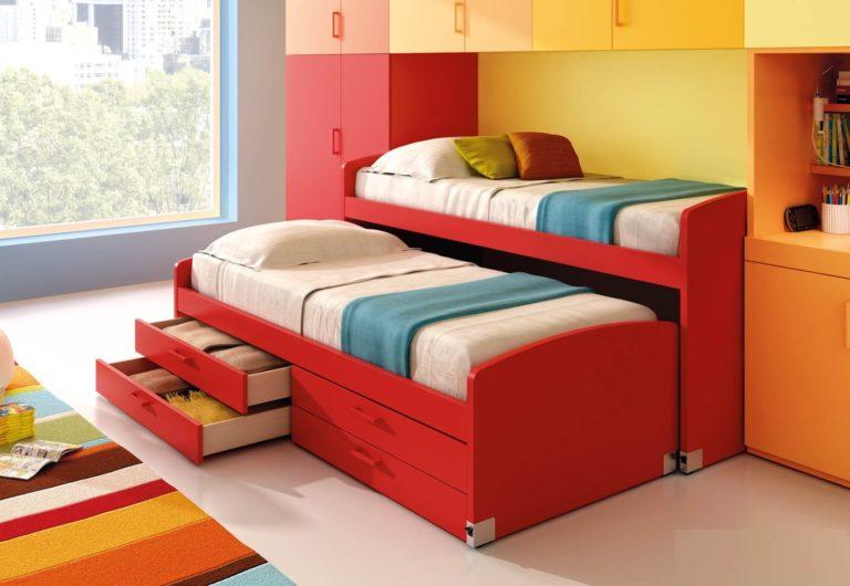 Плюсы и минусы двухъярусных выдвижных кроватей, популярные дизайны, изображение №2