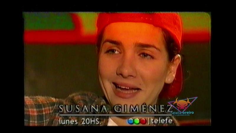 Promo Natalia Oreiro en el programa de Susana Gimenez BonusTrack Promo Mirtha Legrand