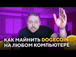 Как Майнить Dogecoin на любом Компьютере | Разоблачение Аферистов!