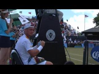 Lleyton Hewitt vs Nicolas Mahut  Hall of Fame Tennis Championships 2013  Final