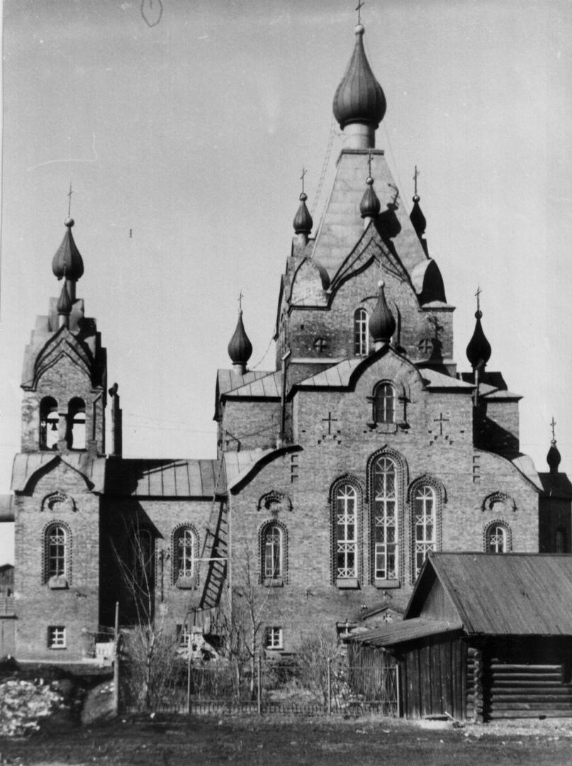 Феодоровская (Романовская) церковь. Начало 1960-х гг.