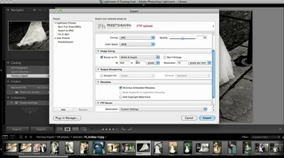 Tutorial: How to export/upload images from Lightroom to FTP.