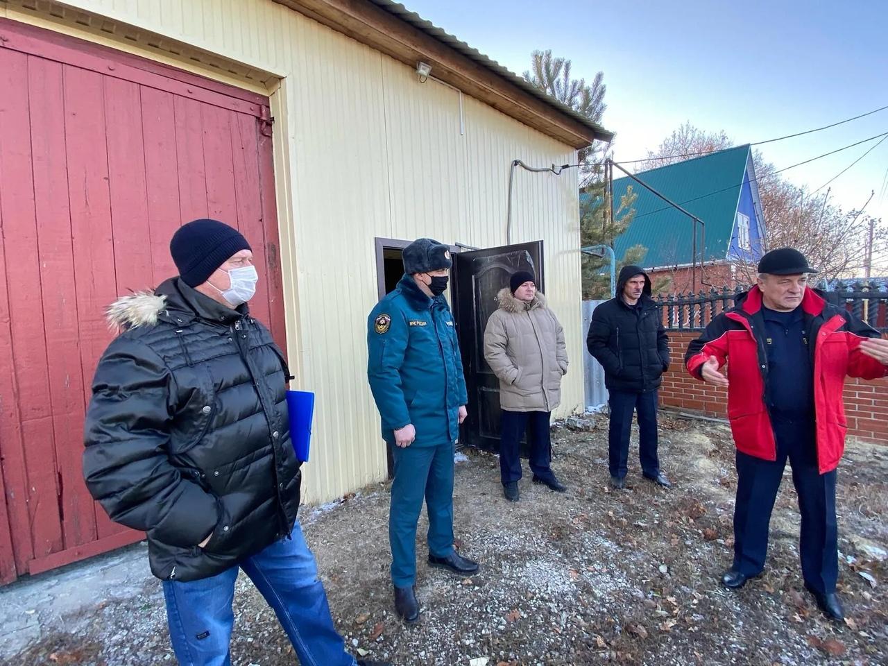 В селе Озёрки Петровского района планируется открытие пожарного поста противопожарной службы