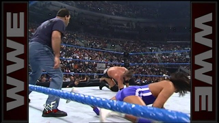 The Brooklyn Brawler & Kaientai vs. Triple H - 3-on-1 Handicap Match: SmackDown, July 6, 2000