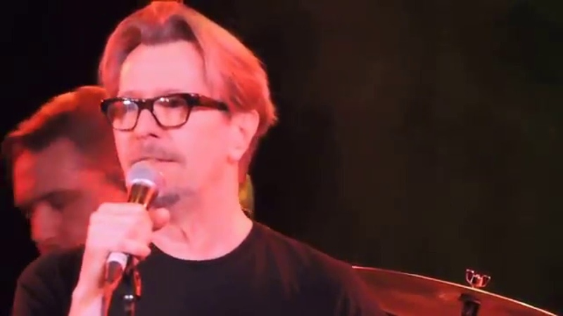 Gary Oldman The Man Who Sold The World at Celebrating David Bowie