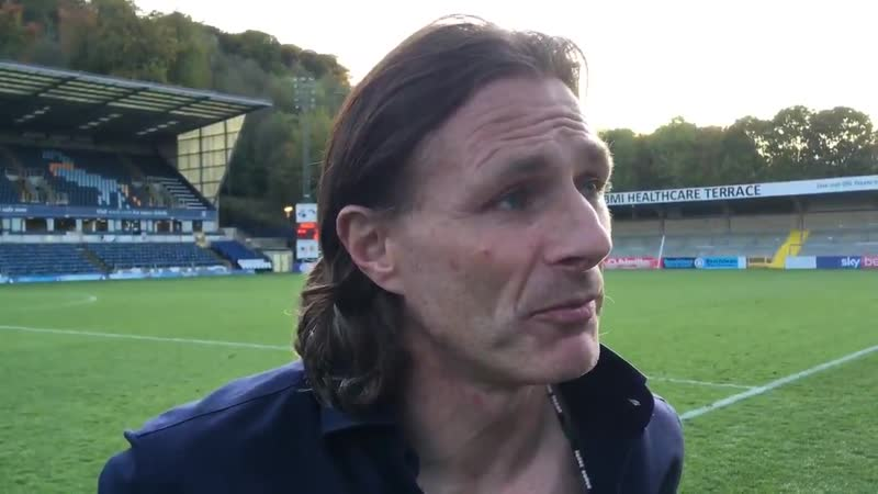Reaction to yesterday's win - and a look ahead to Blackpool on Tuesday - from Gareth Ainsworth
