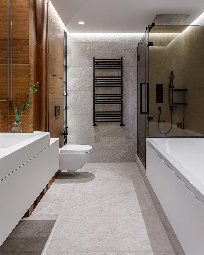 Design Rocks: современная квартира в подмосковном ЖК